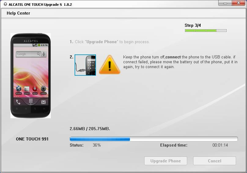 Upgrade Firmware Alcatel Ot 991 - motionsoup